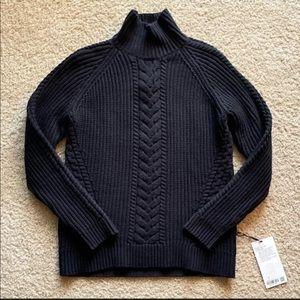 Lululemon Black Turtleneck Sweater Sz 6